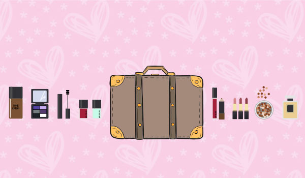 how to pack nail polish for air travel